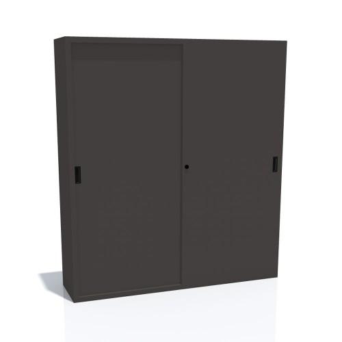 Arhivska omara z drsnimi vrati 1800x450x2000 mm
