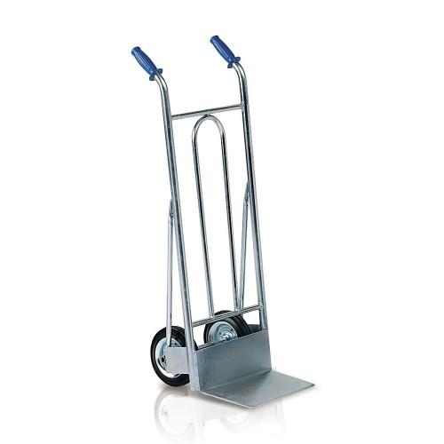 Galvaniziran ročni skladiščni voziček C013