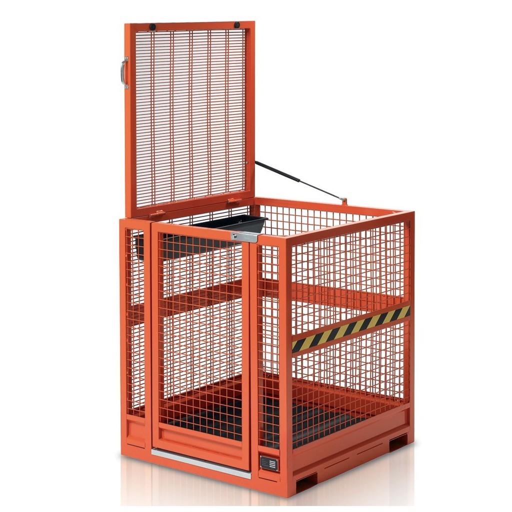 Najem - Delovna dvižna košara za viličar