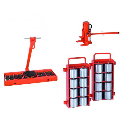 Najem - Transportni vozički za težka bremena (set)