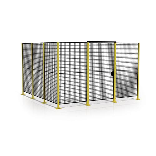 Steber za ograjo iz mreže