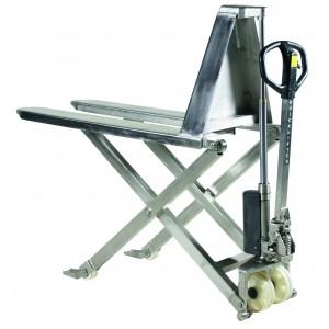Škarjasti ročni paletni viličar (dvižna miza) PL 1000 SAX 1150 mm INOX