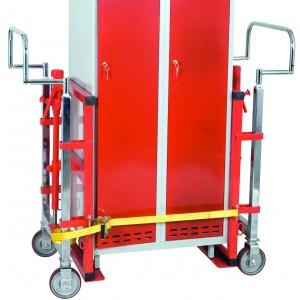 Transportni voziček s hidravlično dvigalko