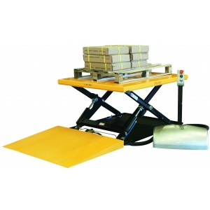 Električna dvižna miza z rampo