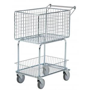 Pisarniški voziček za pakete ali pošto