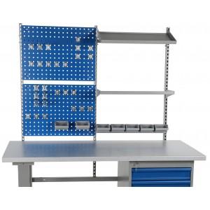 Dodatna oprema - dvojni panel in obešala za delovno mizo
