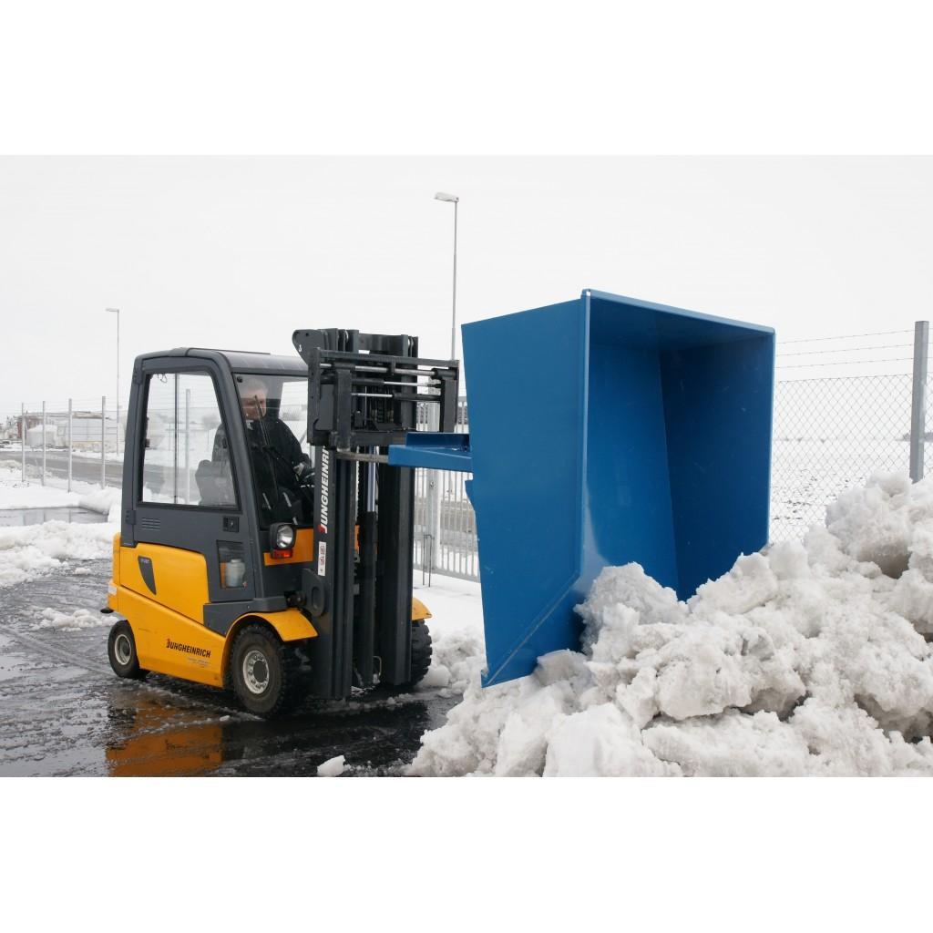 Prekucni zabojnik - lopata za sneg in pesek