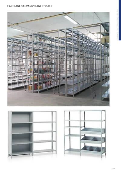 Katalog - Regalni sistemi