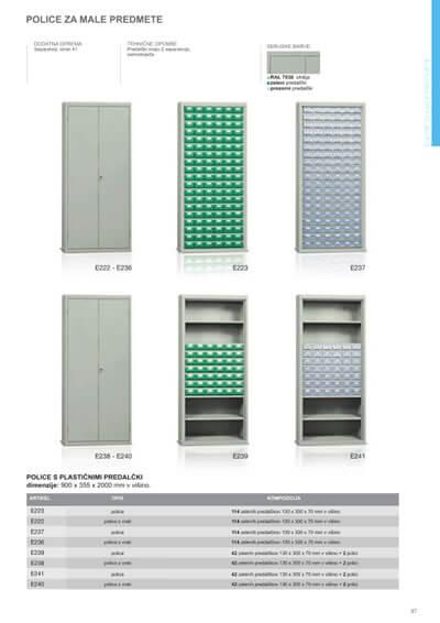 Katalog - Enote za male predmete