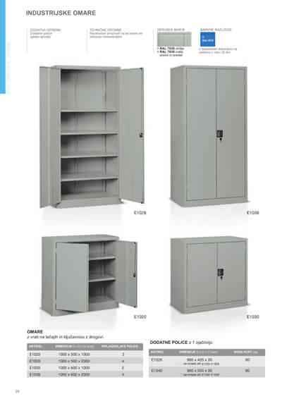 Katalog - Industrijske omare