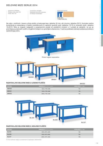 Katalog - Delovne mize