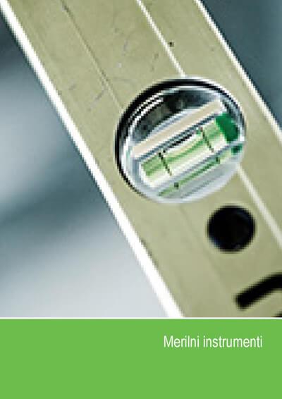 Katalog - Merilni inštrumenti